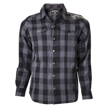 T-shirts  Jack Daniel's - Black/Grey checks Shirt
