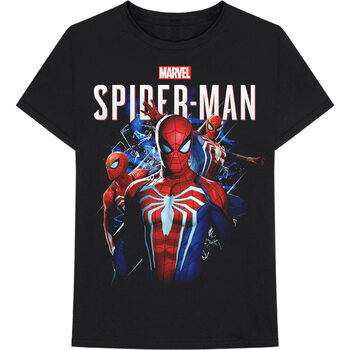 T-shirts Marvel - Spiderman Montage