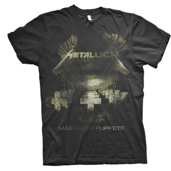T-shirts Metallica - Master Of Puppets