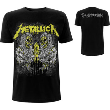 T-shirts Metallica - Sanitarium