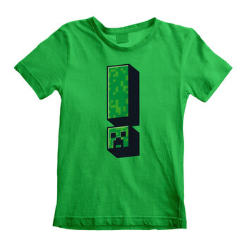 T-shirts Minecraft - Creeper Exclamation