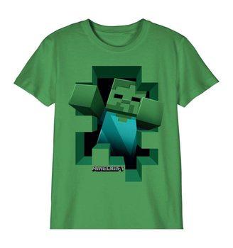 T-shirts Minecraft - Zombie