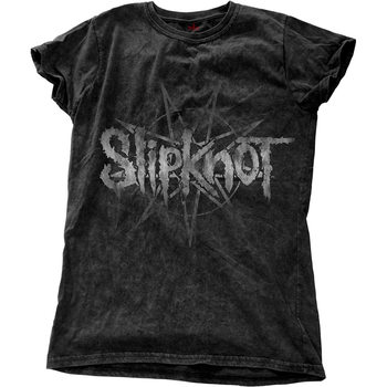 T-shirts Slipknot - LOGO STAR WITH SNOW WASH FINISHING