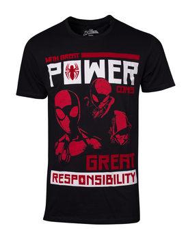 T-shirts Spiderman - Power Vs Responsibility