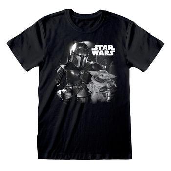 T-shirts Star Wars: The Mandalorian - BW Photo