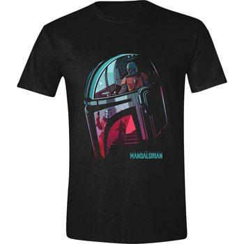 T-shirts Star Wars: The Mandalorian - Helmet Reflection
