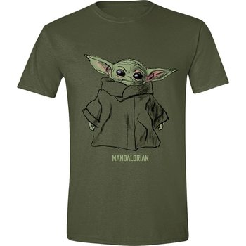 T-shirts Star Wars: The Mandalorian - The Child Sketch