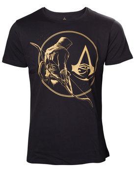 AC Origins - Golden Bayek & Crest T-shirt T-Shirt