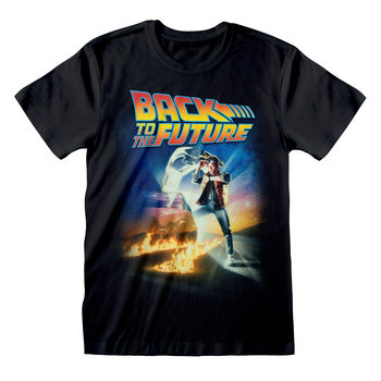 Back To The Future - Poster T-Shirt