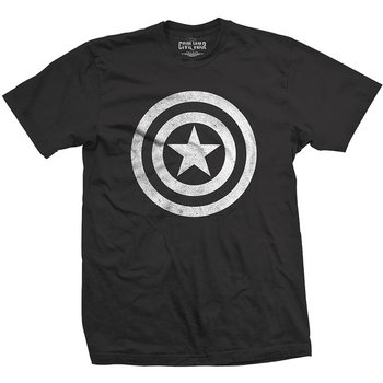 Captain America - Basic Shield T-Shirt