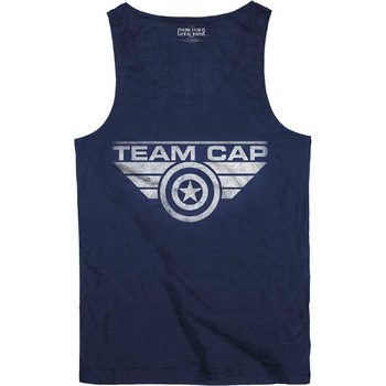 Captain America - Team Cap T-Shirt