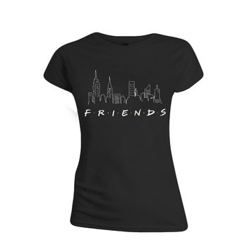 Friends - Logo and Skyline T-Shirt