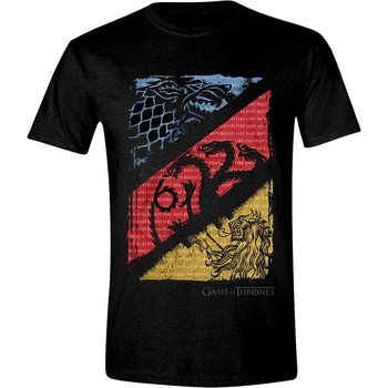 Game of Thrones - Diagonal Sigils T-Shirt