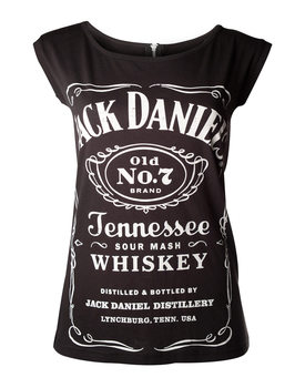 Jack Daniel's - Black With Zipper T-Shirt