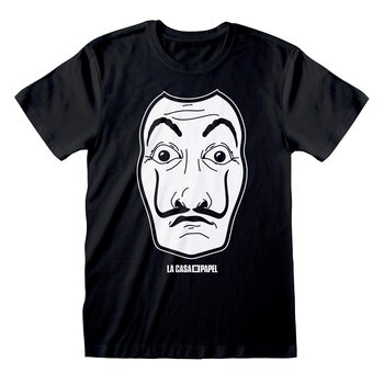 La Casa De Papel - Black Mask T-Shirt