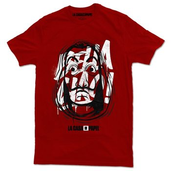 Money Heist (La Casa De Papel) - Mask T-Shirt