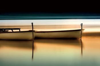 Tableau sur verre Boats