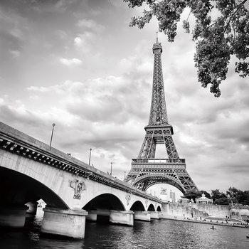 Tableau sur verre Paris - Eiffel Tower