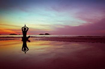 Tableau sur verre Yoga - Serenity