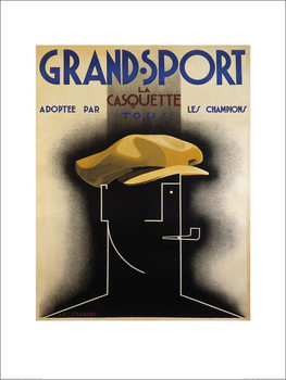 A.M. Cassandre - Grand Sport, 1925 Taidejuliste
