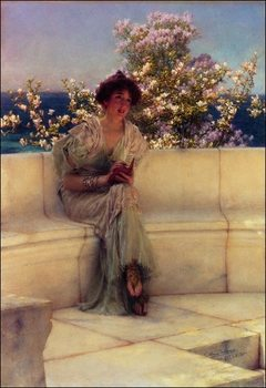 Alma-Tadema - The Year´s At The Spring Taidejuliste