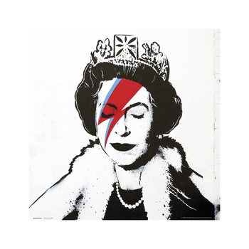 Banksy - Queen Bowie Taidejuliste