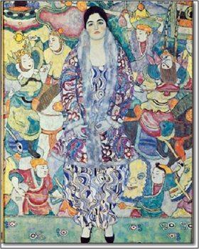 Bildnis Friederike Maria Beer 1916 Taidejuliste