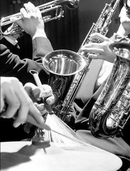 Brass and Drumsticks Taidejuliste
