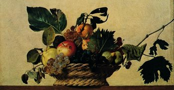Caravaggio - Cesto Di Frutta Taidejuliste