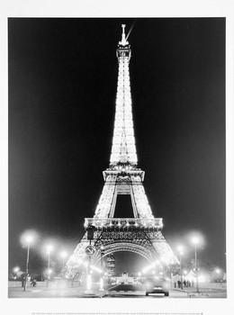 Eiffel Tower at Night Taidejuliste