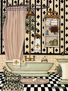 Elegant Bath II Taide