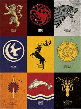 Game of Thrones - Sigils Taidejuliste