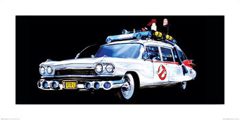Ghostbusters - Car Taidejuliste