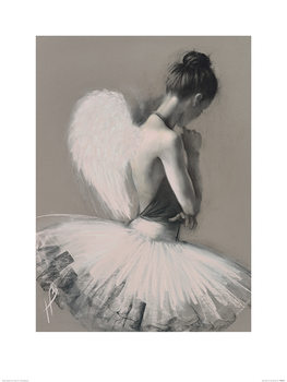 Hazel Bowman - Angel Wings II Taidejuliste