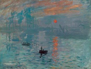 Impression, Sunrise - Impression, soleil levant, 1872 Taidejuliste