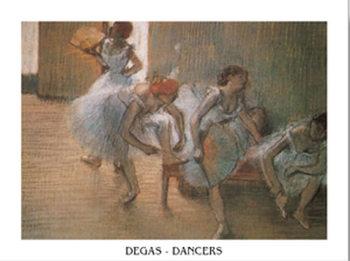 In the Dance Studio, 1899 Taidejuliste