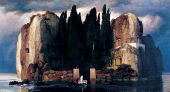 Isle of the Dead (Fifth version), 1886 Taidejuliste