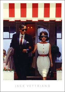 Jack Vettriano - Lunch Time Lovers Taidejuliste