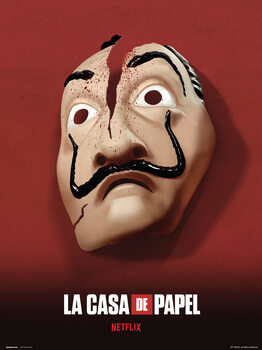 Money Heist (La Casa De Papel) - Mask Taidejuliste