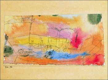 P.Klee - Der Fish Im Ahfen Taidejuliste