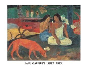Paul Gauguin - Area Area Taidejuliste