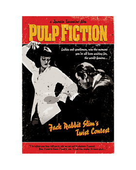 Pulp Fiction - Twist Contest Taidejuliste