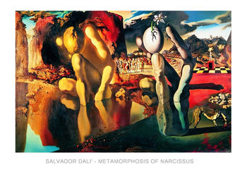 Salvador Dali - Metamorphosis Of Narcissus Taidejuliste