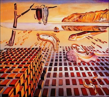 Salvador Dali - The Disintegration Taidejuliste