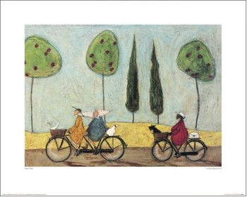 Sam Toft - A Nice Day For It Taidejuliste