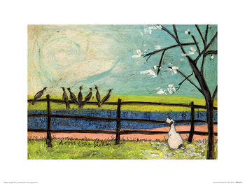 Sam Toft - Doris and the Birdies Taidejuliste