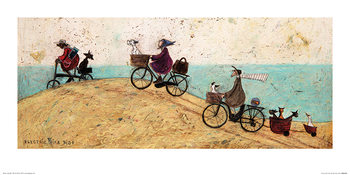 Sam Toft - Electric Bike Ride Taidejuliste