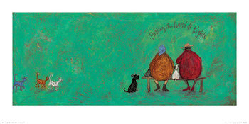 Sam Toft - Putting the World to Rights Taidejuliste