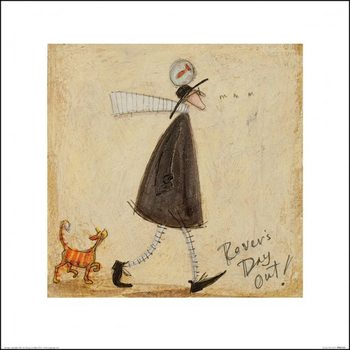 Sam Toft - Rovers Day Out Taidejuliste