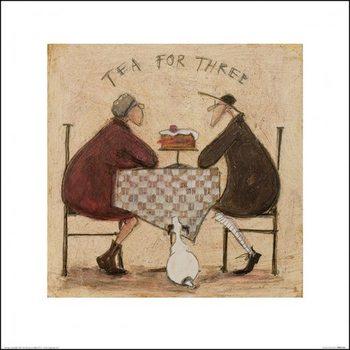 Sam Toft - Tea for Three 7 Taidejuliste